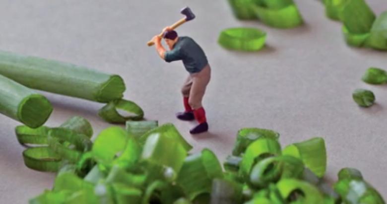 Food as art: Fun photos bring nature's bounty to life