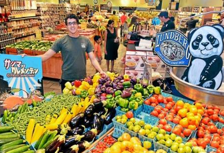 North Wales Whole Foods artist custom creates stores hangings