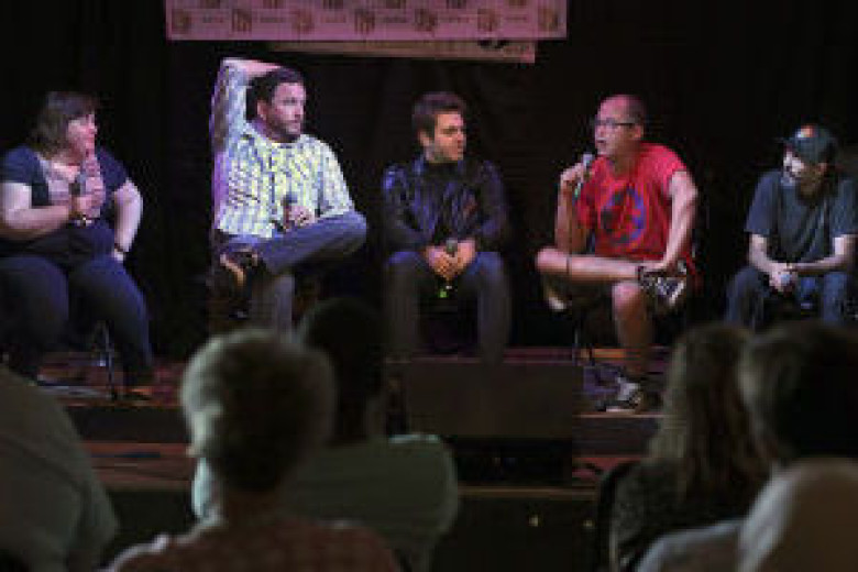 Food, music come together in panel discussion