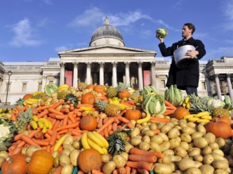 Here's A Reason To Love Disco Again: Stopping Food Waste