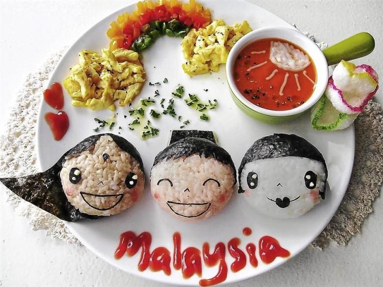 Fantastical plates of food art