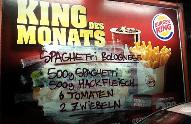 These Street Artists break the law to make you think twice about fast food