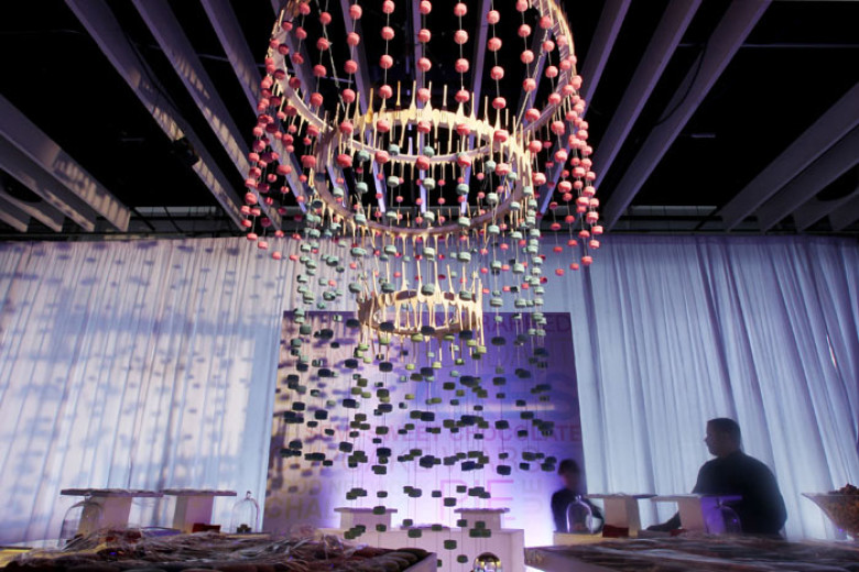 11 Interactive Art Installations at Food Network's 20th Birthday Bash