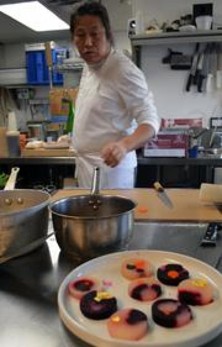 The Art Forecast: Cape Elizabeth artist chef balances painting, cuisine at Spread in Portland