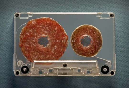 Food Art: Salami Tape, Cucumber Camera & More