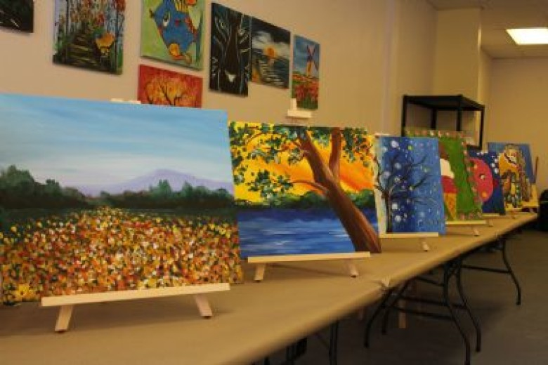 Creative Juices to Flow at New Christiansburg Art Studio