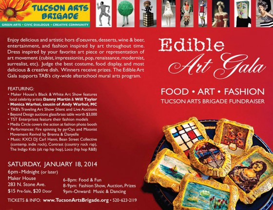 Edible Art Gala at new Maker House downtown