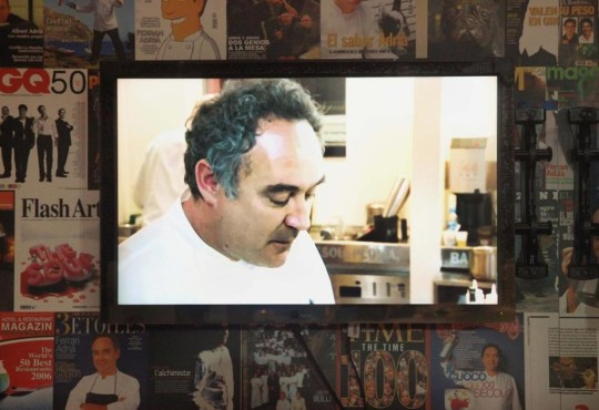 Ferran Adria's innovation on display at the Museum of Science