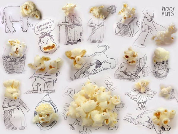 This Artist Turns Common Food into Whimsical Pieces of Art