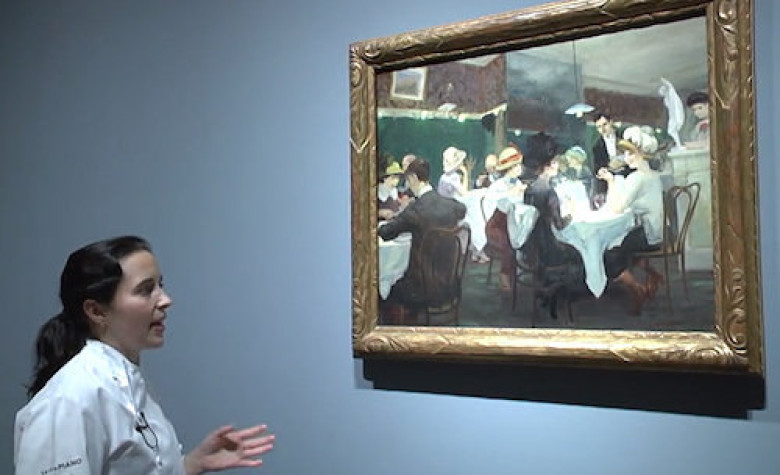 Watch Chefs Discuss Art at the Art Institute of Chicago