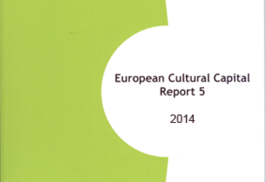 European Cultural Capital Report Volume 5 Published
