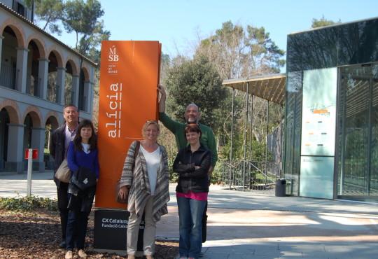Generalitat takes IGCAT to Fundació Alícia