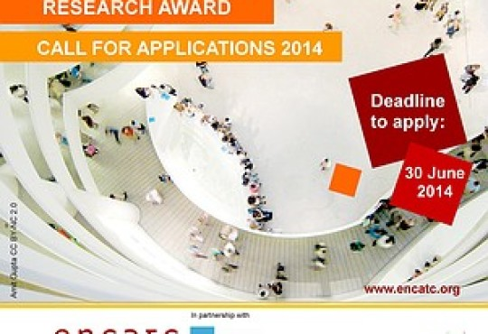 Who will be the 11th Cultural Policy Research Award winner? 2014 Call for applications is now open!