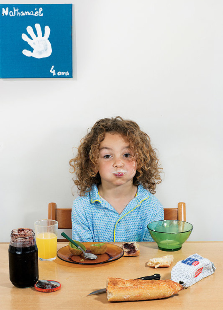 What do kids around the world eat for breakfast?