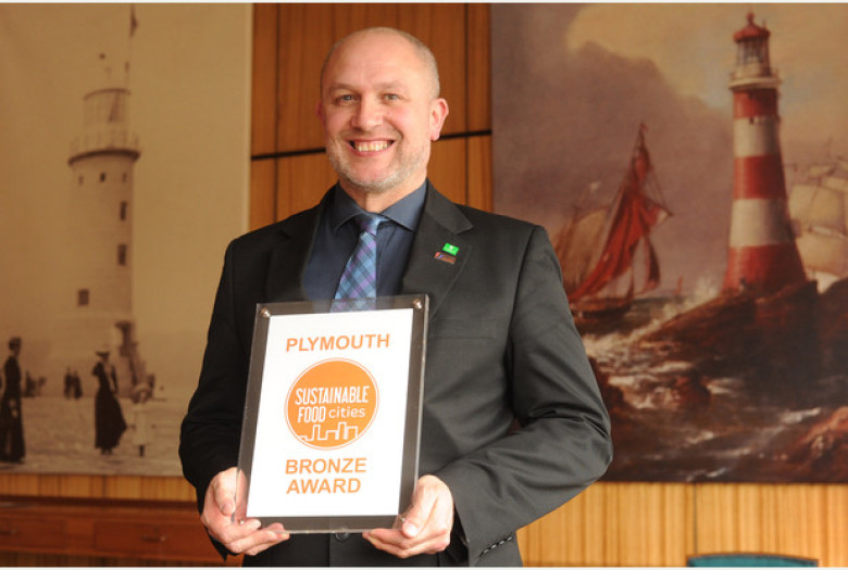 Plymouth City Council Wins National Sustainable Food Cities Award