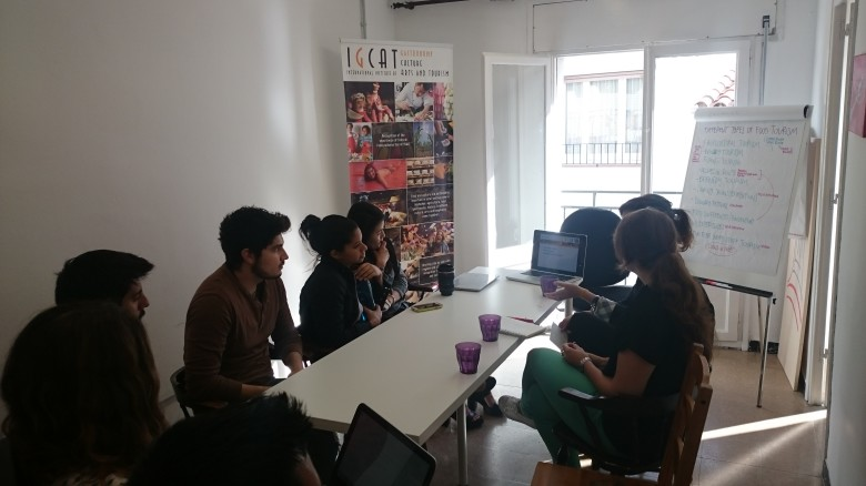 EUHT StPOL Event Planning and Management Students visit IGCAT's offices