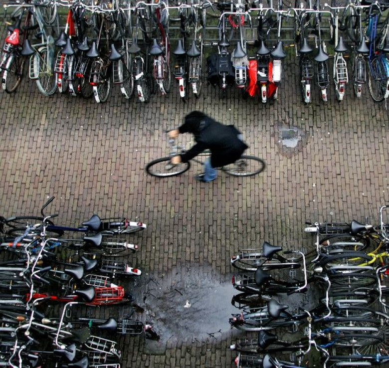 Amsterdam Has Officially Run Out of Spaces to Park Its Bicycles