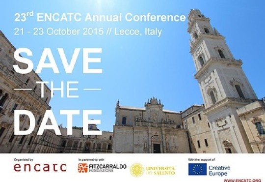 23rd ENCATC Annual Conference Announced And 2014 Report Published