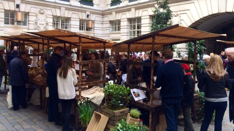 First 'Slow Food' Market Opens in London