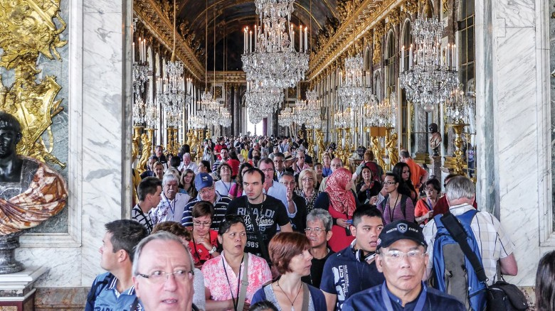Jammed: Overcrowding at the world's most popular tourism sites