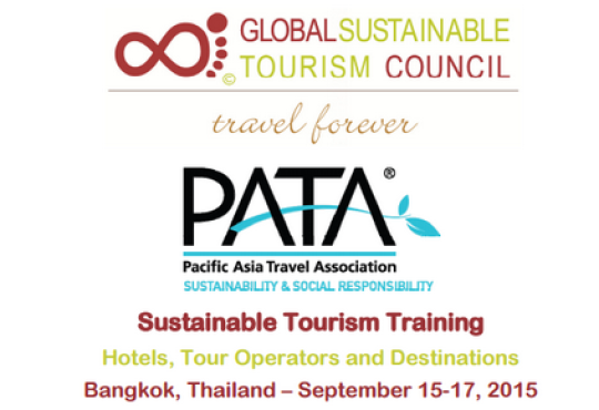 PATA and the Global Sustainable Tourism Council to conduct sustainable tourism training
