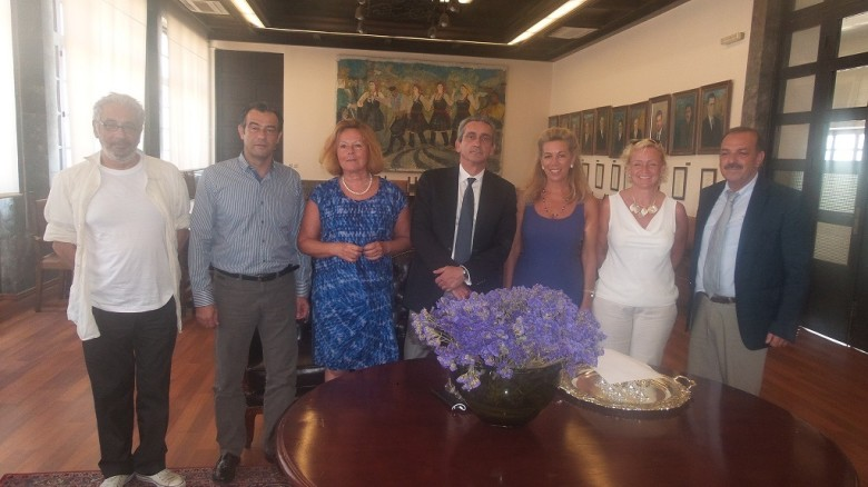 IGCAT visits Rhodes candidate European Capital of Culture 2021