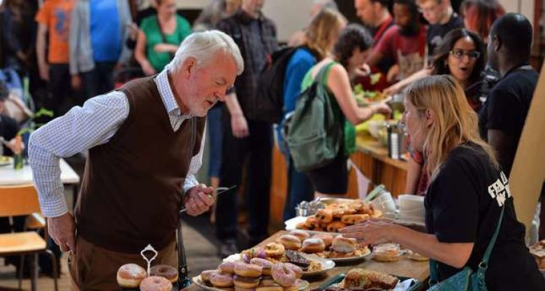 UK food recycling cafes go global in fight against waste