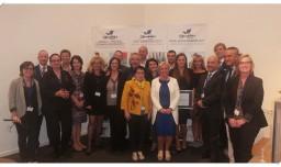 Award Ceremony of Aarhus-Central Denmark Region, East Lombardy and Riga-Gauja European Regions of Gastronomy 2017, Expo Milan, Italy