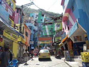 Visiting a Favela Community in Rio de Janeiro