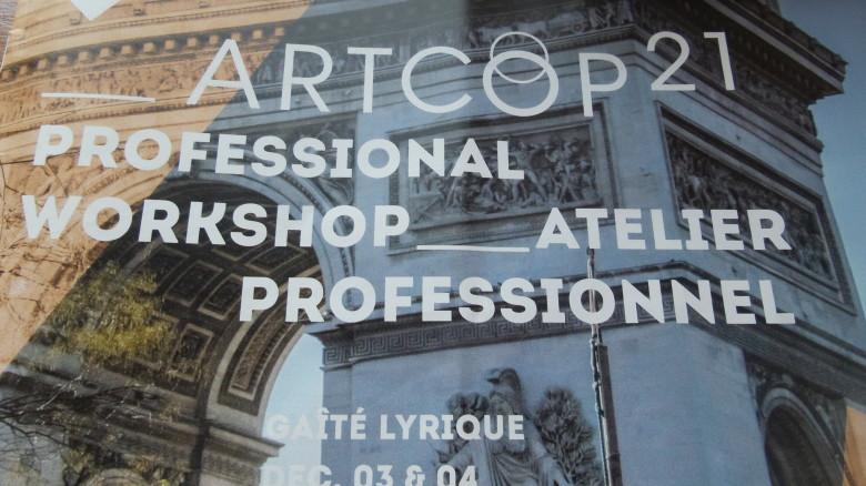 IGCAT participates in ArtCOP21 in Paris