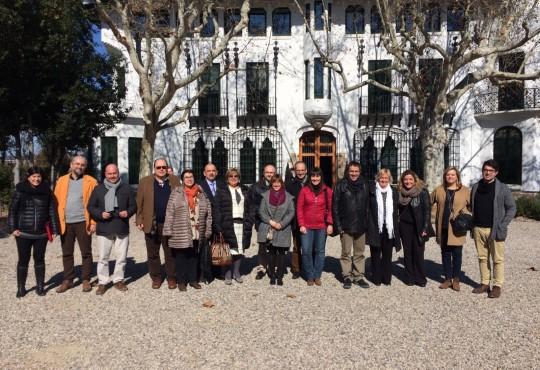 IGCAT visits Cava Codorniu