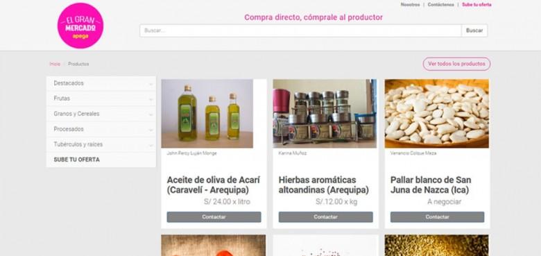 """El """"Gran Mercado"""" connecting farmers with buyers"""