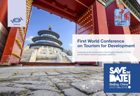 UNWTO and China organize First World Conference on Tourism for Development