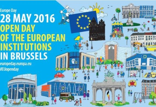 EU institutions open their doors to celebrate the Europe Day, 28 May 2016