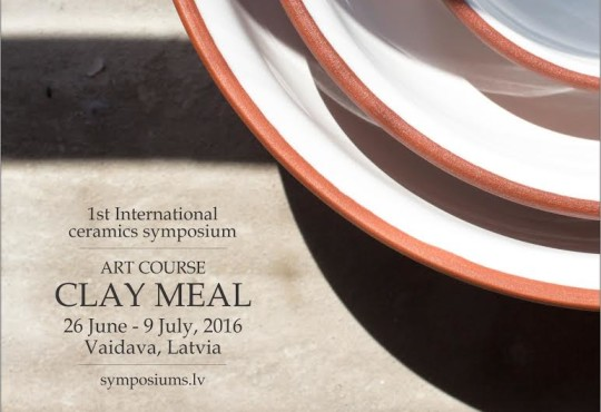 Pottery Symposium and gastronomic performance to take place by the Lake Vaidava, Latvia