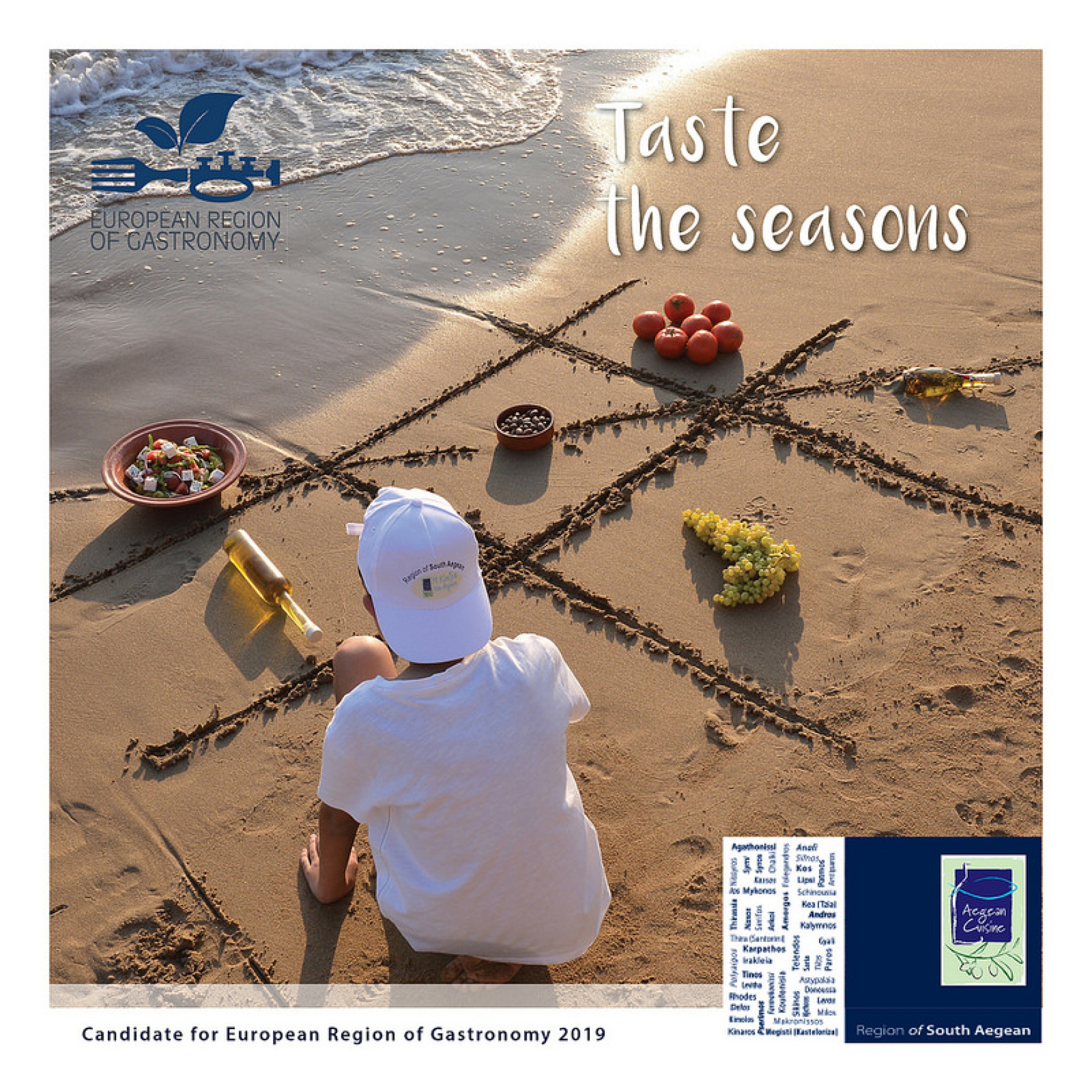 South Aegean's European Region of Gastronomy bid for 2019 submitted