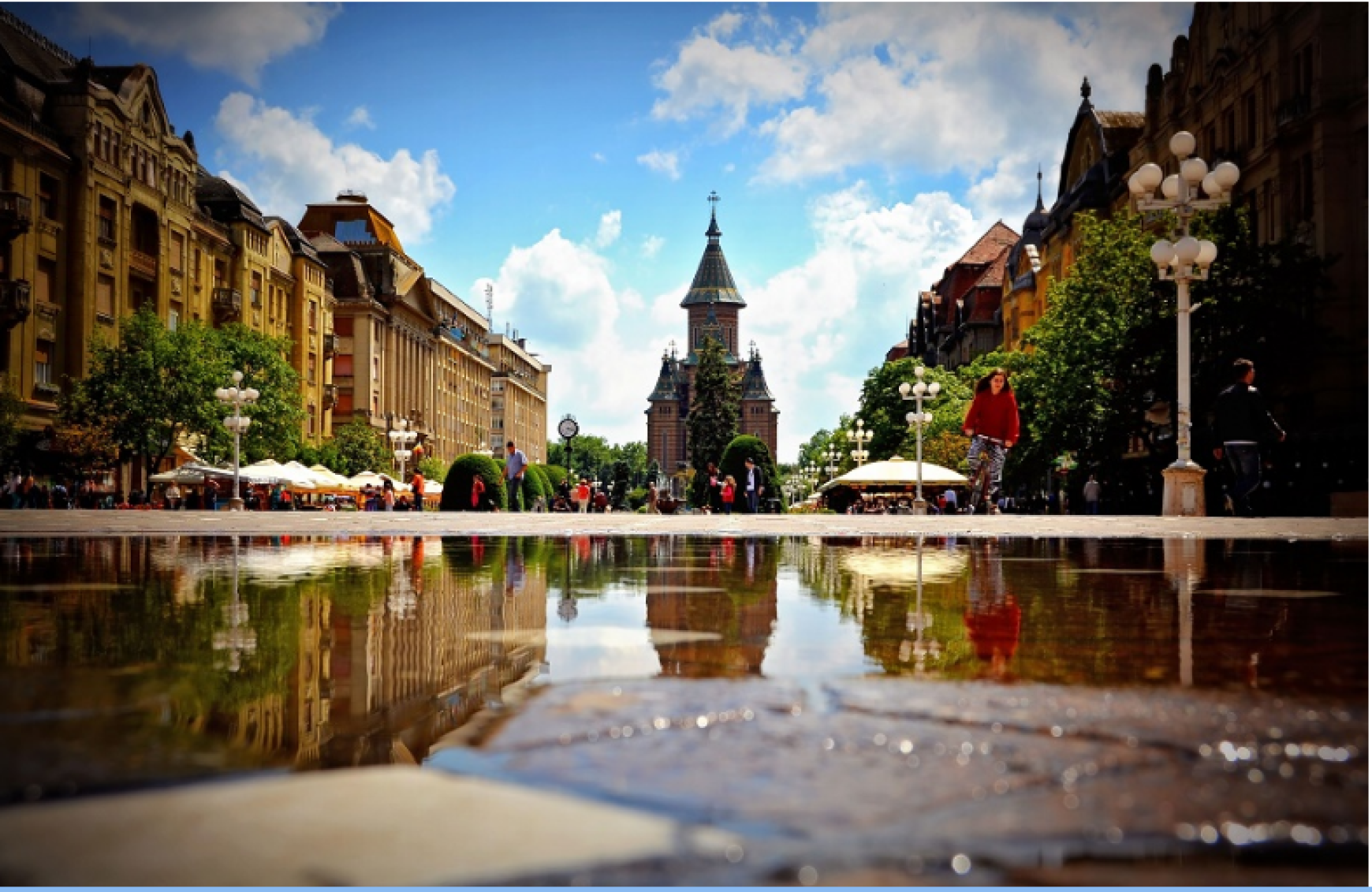 Timisoara, together with Arad will be Romania's European Capital of Culture in 2021
