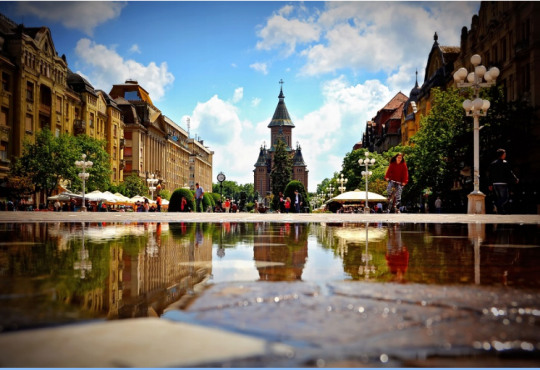 Timisoara, together with Arad will be European Capital of Culture in 2021