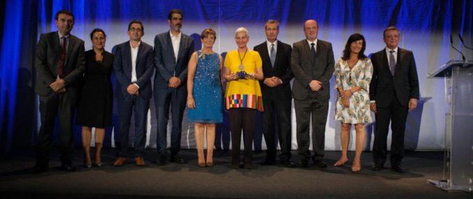 Maria Fernanda Di Giacobbe is awarded the first Basque Culinary World Priza