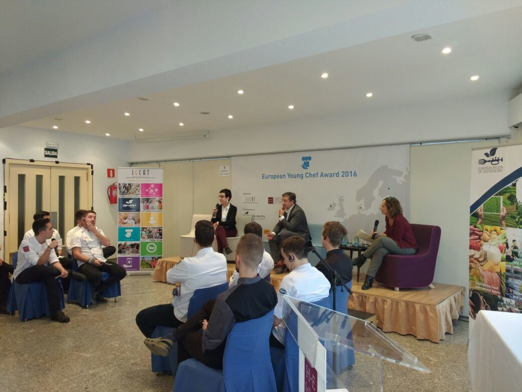 Mentoring European Young Chefs – Round Table with celebrity chefs Joan Roca and Carme Ruscalleda