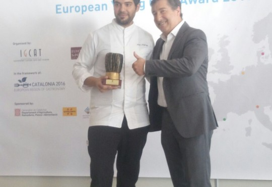 Stamatios Misomikes: European Young Chef 2016
