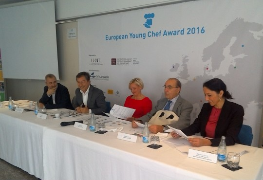 Joan Roca, Jury President for the European Young Chef Award 2016