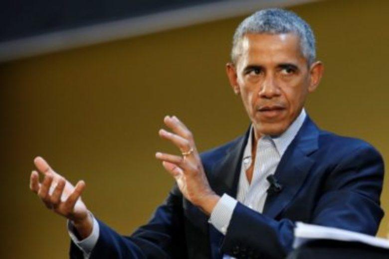 Barack Obama speaks at Food Innovation Summit in Italy