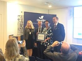 Award Ceremony Kuopio 2020