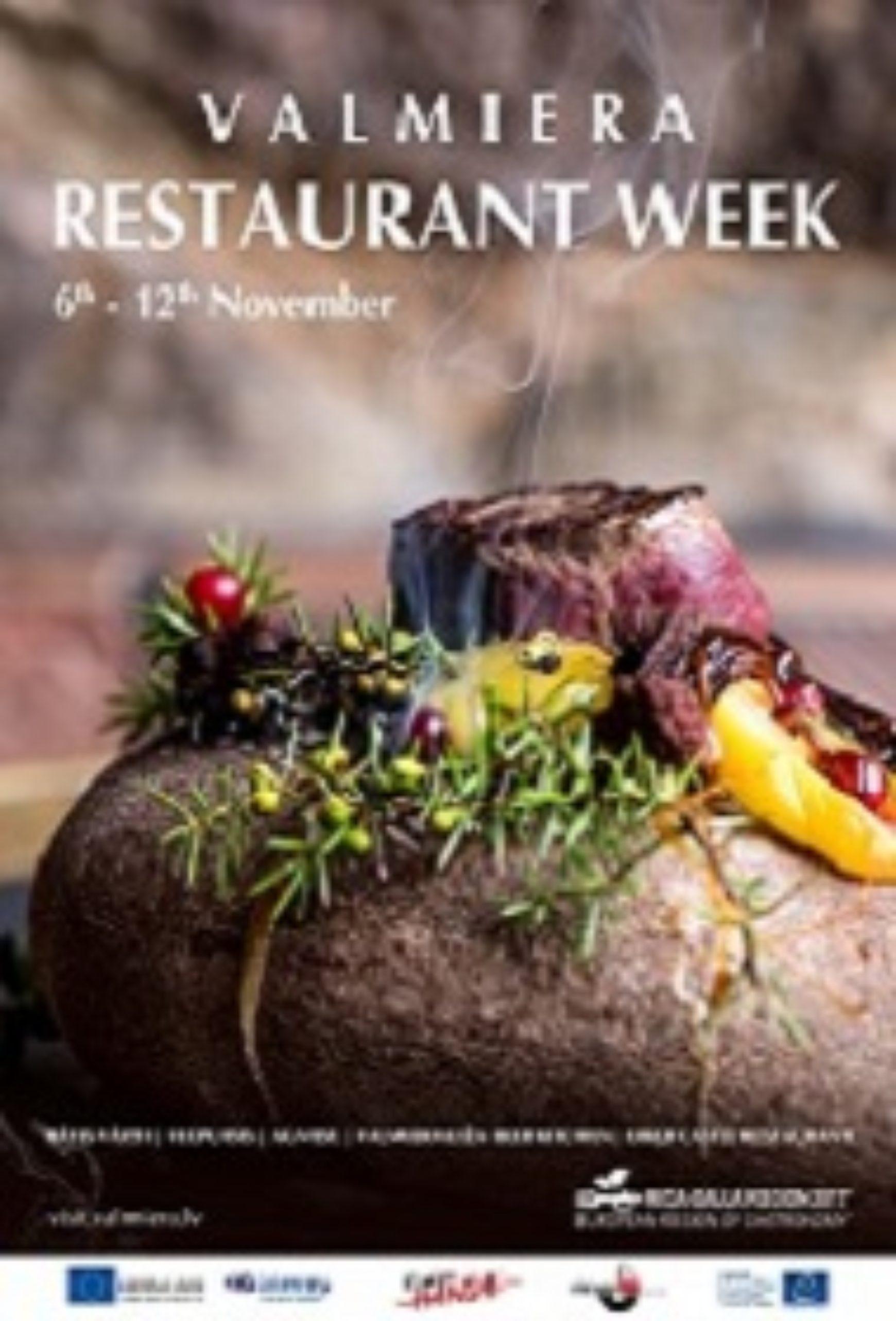 Valmiera Restaurant Week Riga-Gauja Region