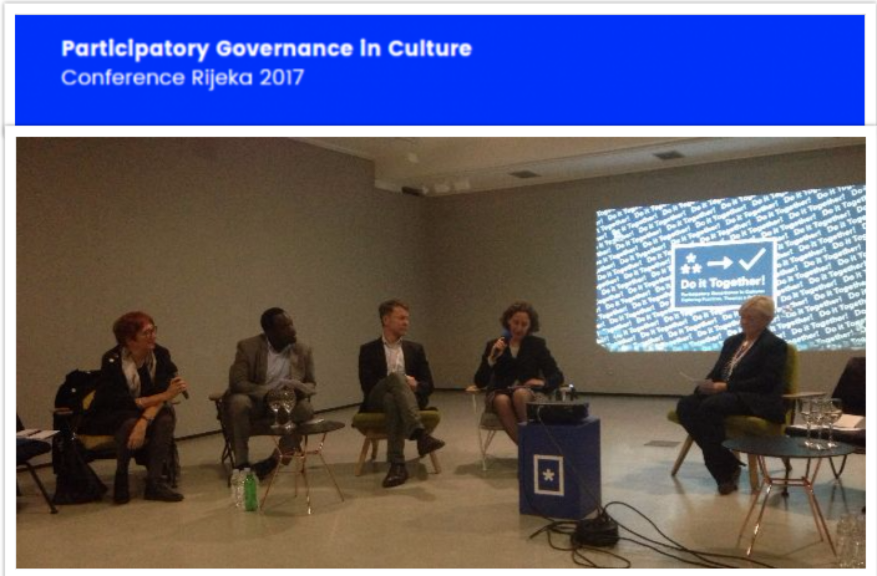 Participatory Governance in Culture: exploring practises