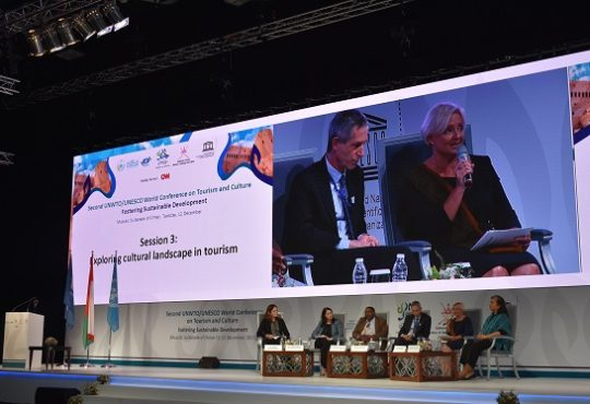 IGCAT applauded for fostering sustainable tourism at 2nd UNESCO/UNWTO World Conference on Culture and Tourism