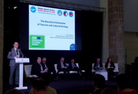 NECSTouR: Barcelona Declaration on Tourism and Cultural Heritage – Opportunities and challenges for European tourism destinations