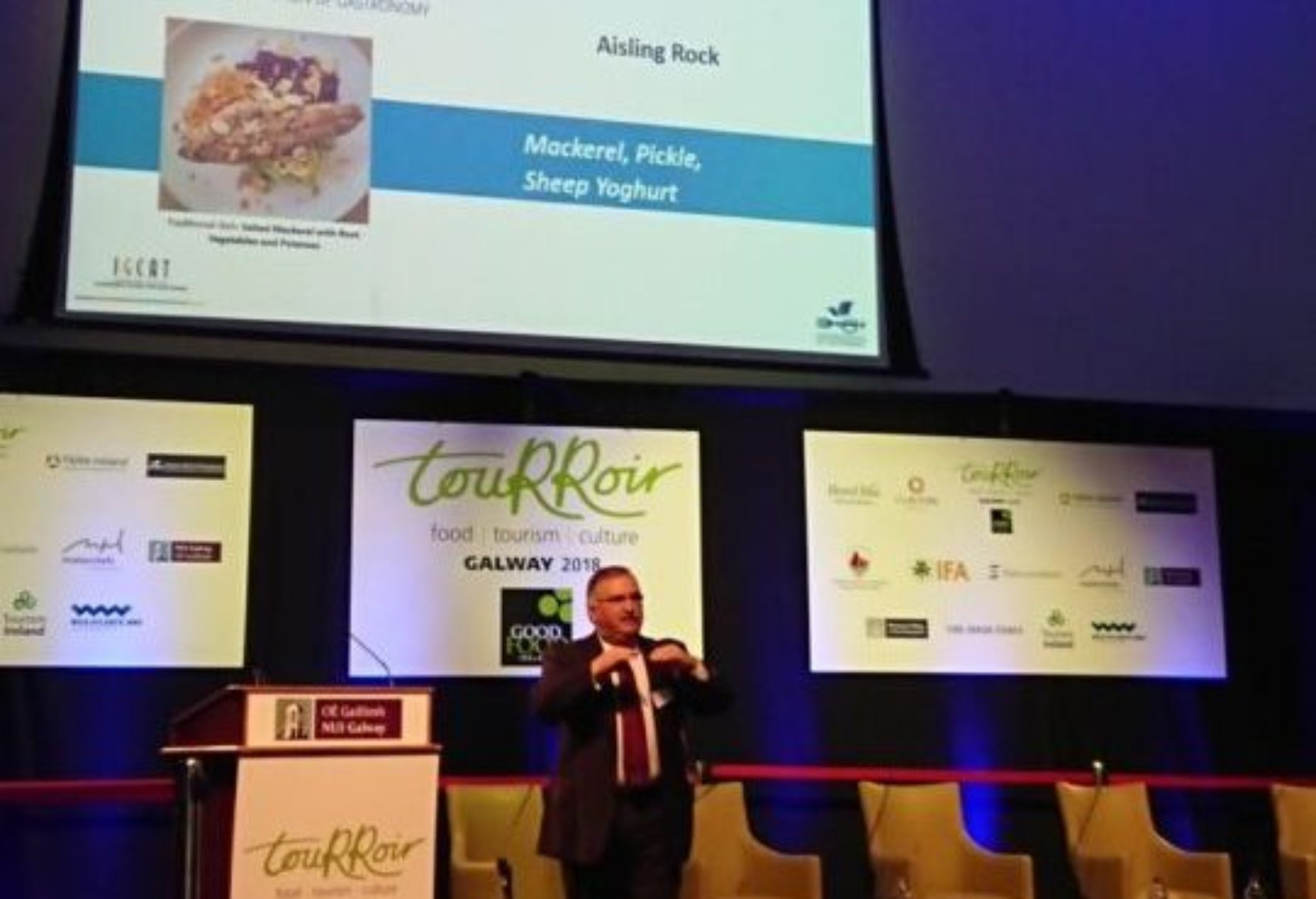 IGCAT and Impacts of European Region of Gastronomy Showcased at TouRRoir 18