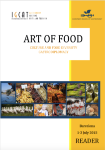 2015 Art of Food Cover